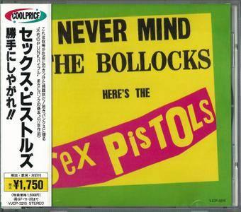 Sex Pistols - Never Mind The Bollocks, Here's The Sex Pistols (1977) {1995, Japanese Reissue}