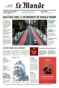 Le Monde du Mardi 24 Mars 2020
