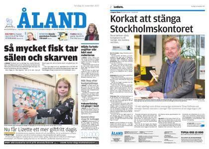 Ålandstidningen – 16 november 2017