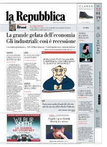 la Repubblica - 12 Gennaio 2019