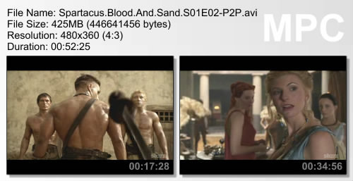 Spartacus: Blood and Sand S01E01-02 (2010)