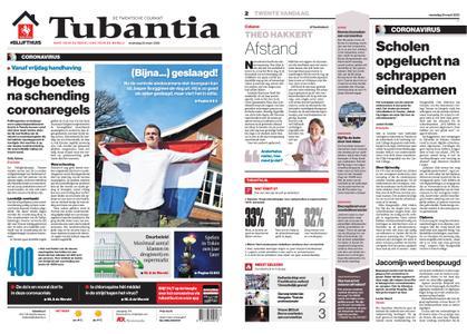 Tubantia - Enschede – 25 maart 2020