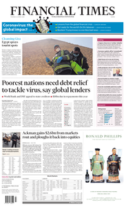 Financial Times Europe - March 26, 2020