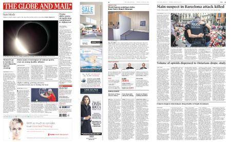 The Globe and Mail – August 22, 2017