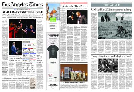 Los Angeles Times – November 07, 2018