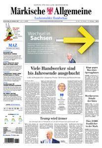 Märkische Allgemeine Luckenwalder Rundschau - 19. Oktober 2017