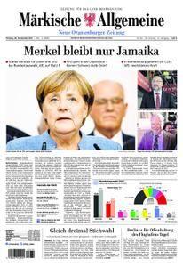 Neue Oranienburger Zeitung - 25. September 2017
