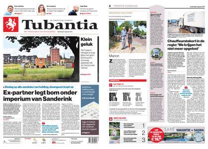 Tubantia - Enschede – 08 augustus 2019