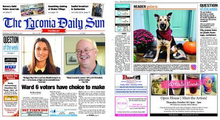 The Laconia Daily Sun – October 10, 2019