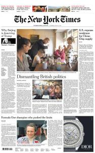 International New York Times - 23 May 2019