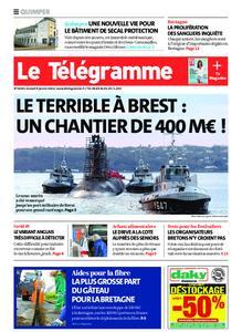 Le Télégramme Quimper – 09 janvier 2021