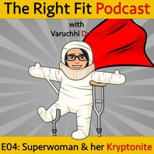 «Superwoman & her Kryptonite.» by Varuchhi Dubey
