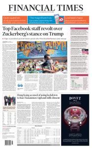 Financial Times Europe - June 2, 2020