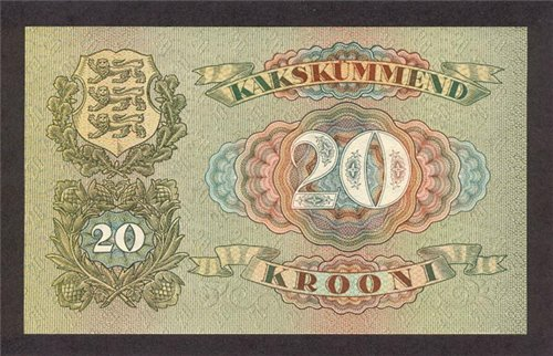 Банкноты всех стран мира! - Эстония
