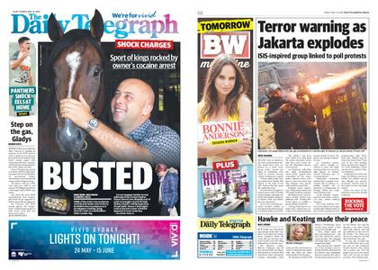 The Daily Telegraph (Sydney) – May 24, 2019