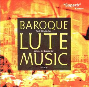 Paul O'Dette - Baroque Lute Music (Kapsberger, Giovanni Girolamo)