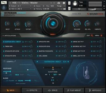 Soundiron Hyperion Strings Elements v1.0.0 KONTAKT