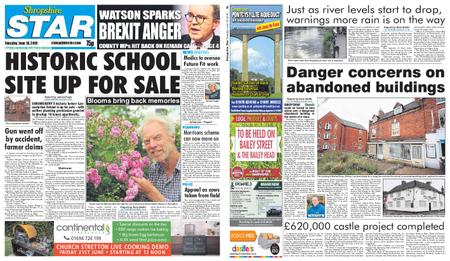 Shropshire Star Shrewsbury Edition – June 18, 2019