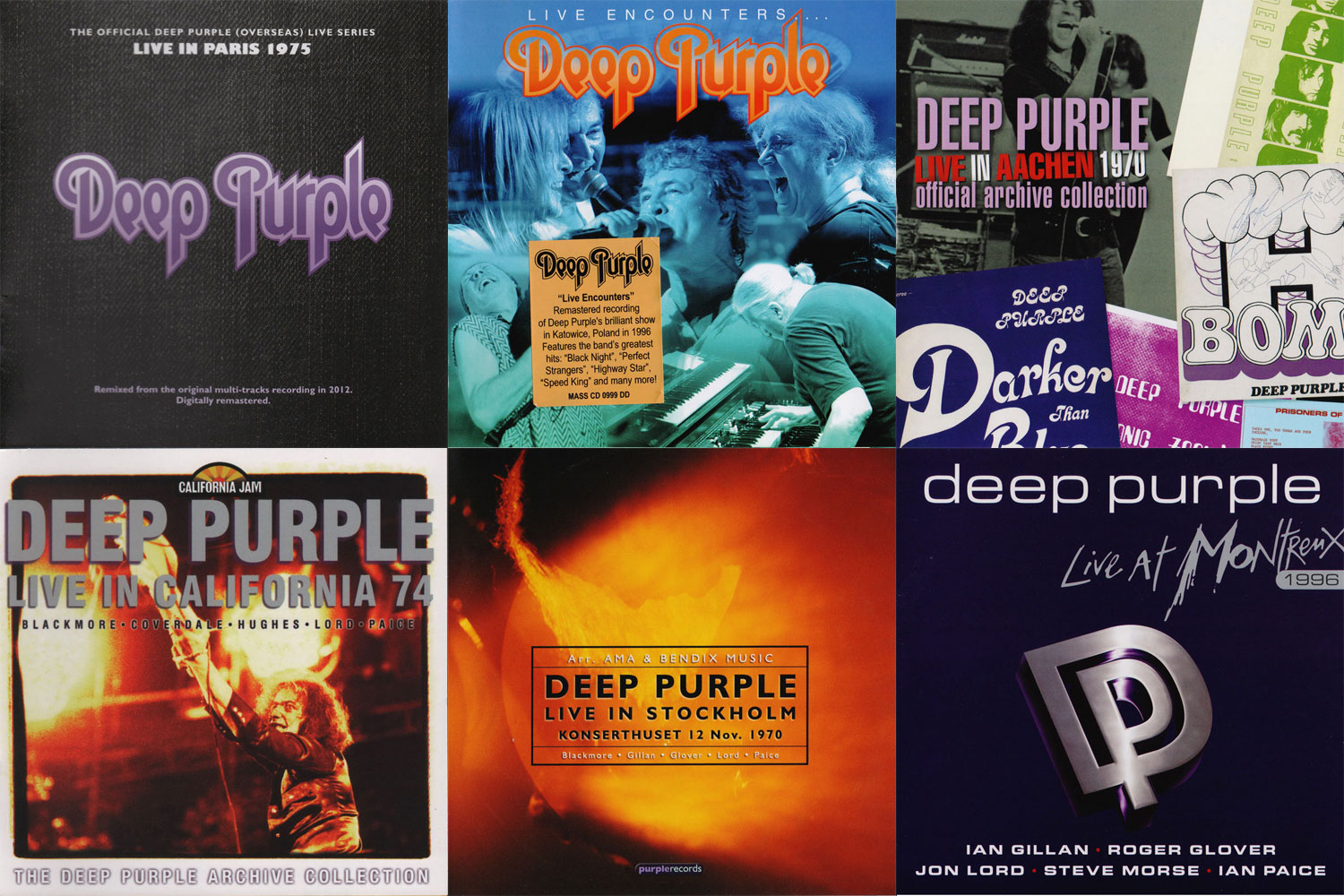 Deep Purple: Live Albums part 6 (2003 - 2006)
