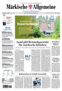 Märkische Allgemeine Zossener Rundschau - 16. Juli 2019