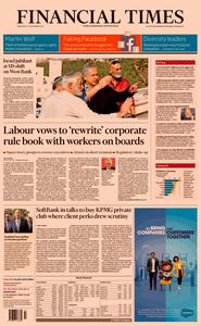 Financial Times UK – 20 November 2019