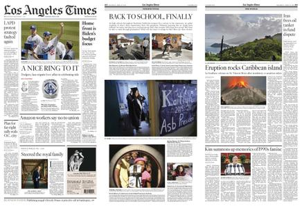 Los Angeles Times – April 10, 2021