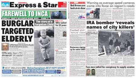 Express and Star Sandwell Edition – March 23, 2019