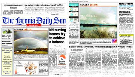 The Laconia Daily Sun – May 13, 2020