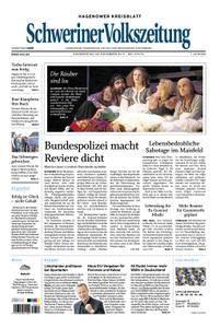 Schweriner Volkszeitung Hagenower Kreisblatt - 23. November 2017