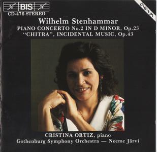 Cristina Ortiz, Gothenburg Symphony Orchestra, Neeme Järvi - Stenhammer: Piano Concerto No. 2, Chitra (1992)