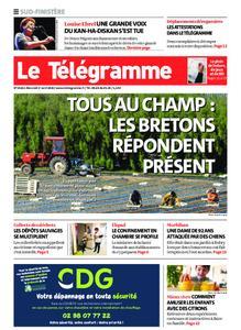 Le Télégramme Ouest Cornouaille – 01 avril 2020