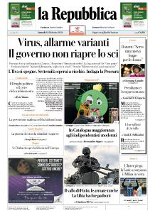 la Repubblica - 15 Febbraio 2021