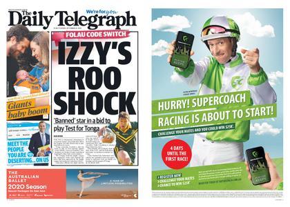 The Daily Telegraph (Sydney) – September 24, 2019
