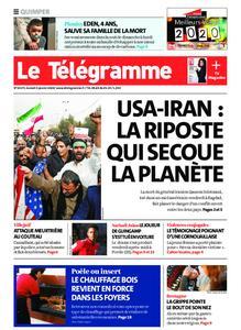 Le Télégramme Quimper – 04 janvier 2020