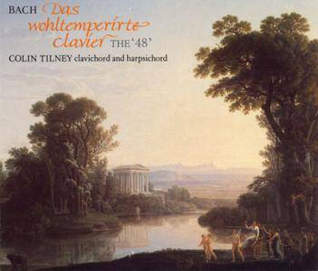Colin Tilney - Johann Sebastian Bach: The Well-Tempered Clavier, Book 1 & 2 (1990) 4CDs [Re-Up]