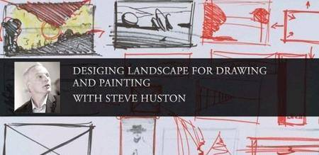 Designing Landscape for Drawing and Painting