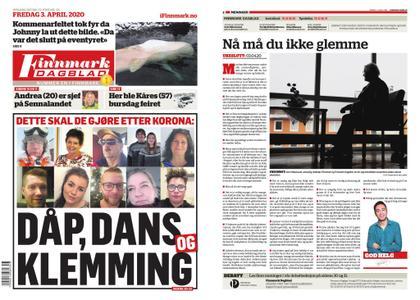 Finnmark Dagblad – 03. april 2020