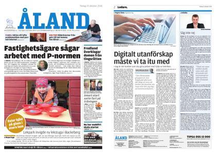 Ålandstidningen – 23 oktober 2018