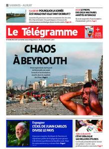 Le Télégramme Auray – 05 août 2020