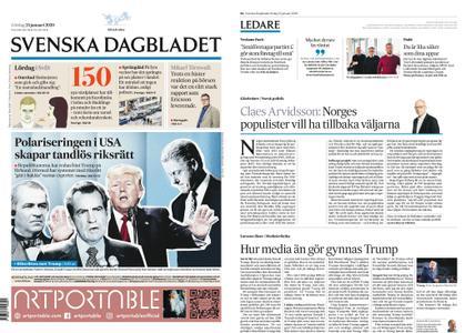 Svenska Dagbladet – 25 januari 2020