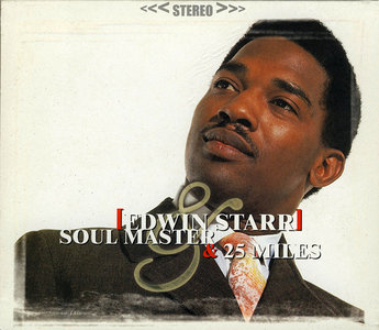 Edwin Starr - Soul Master (1968) + 25 Miles (1969) [2 LP on 1 CD, Remastered 2002]