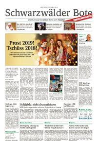 Schwarzwälder Bote Hechingen - 31. Dezember 2018