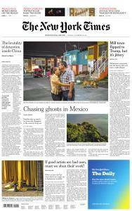 International New York Times - 28 November 2017