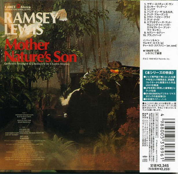 Ramsey Lewis – Mother Nature's Son (1968) [Reissue 2002]