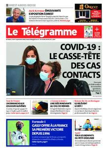 Le Télégramme Brest Abers Iroise – 07 septembre 2020