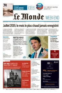 Le Monde du Samedi 17 Août 2019