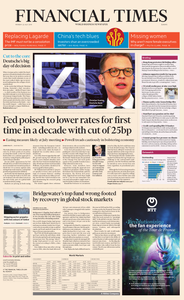 Financial Times Europe – 22 July 2019