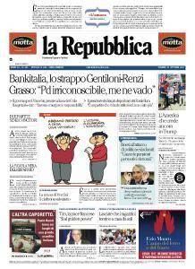la Repubblica - 27 Ottobre 2017