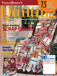 Love of Quilting - September/October 2011