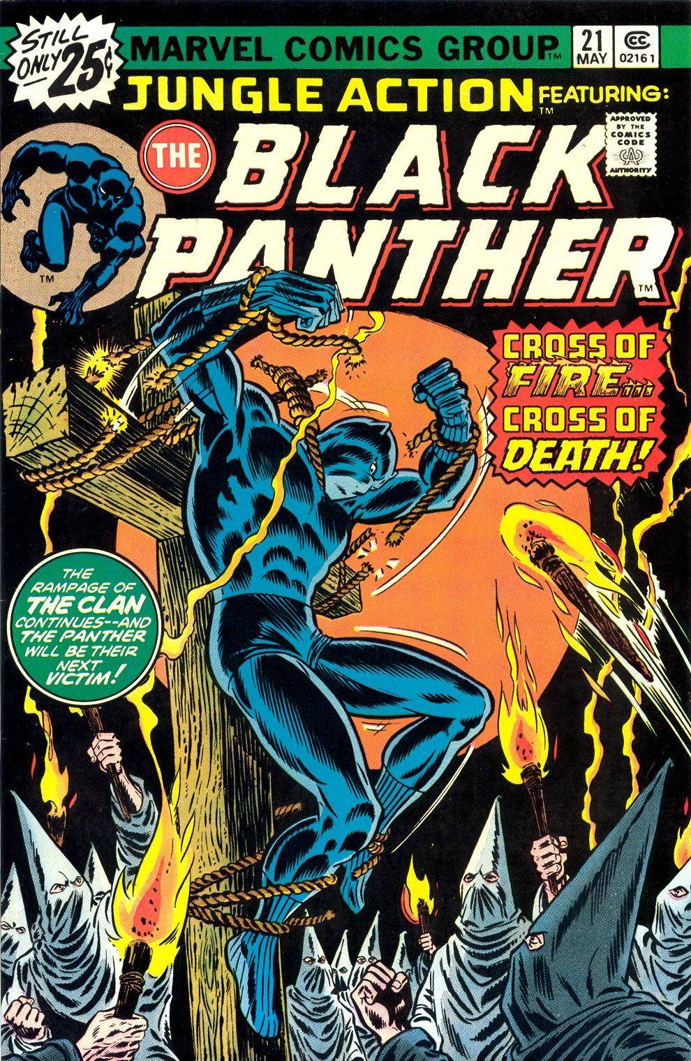 Jungle Action v2 021 featuring Black Panther